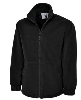 Embroidered Zipped Fleece